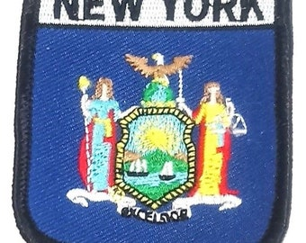New York Embroidered Patch