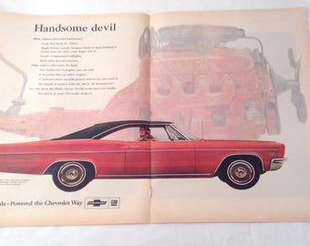 Vintage Impala 66 Magazine Ad