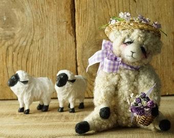 Violet the sheep sachet
