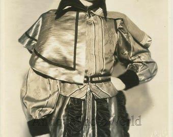Handsome actor J. Willard antique Atwell theater photo