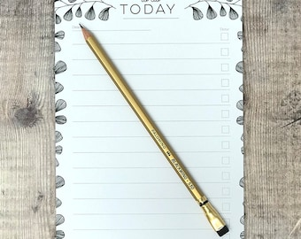 To do today list - Daily Planner List - To Do List - Desk Pad - Notepad - Planner Notepad - To Do List Notepad