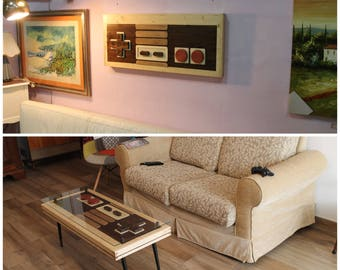 Nintendo Table  - Coffee Table / Wall Art