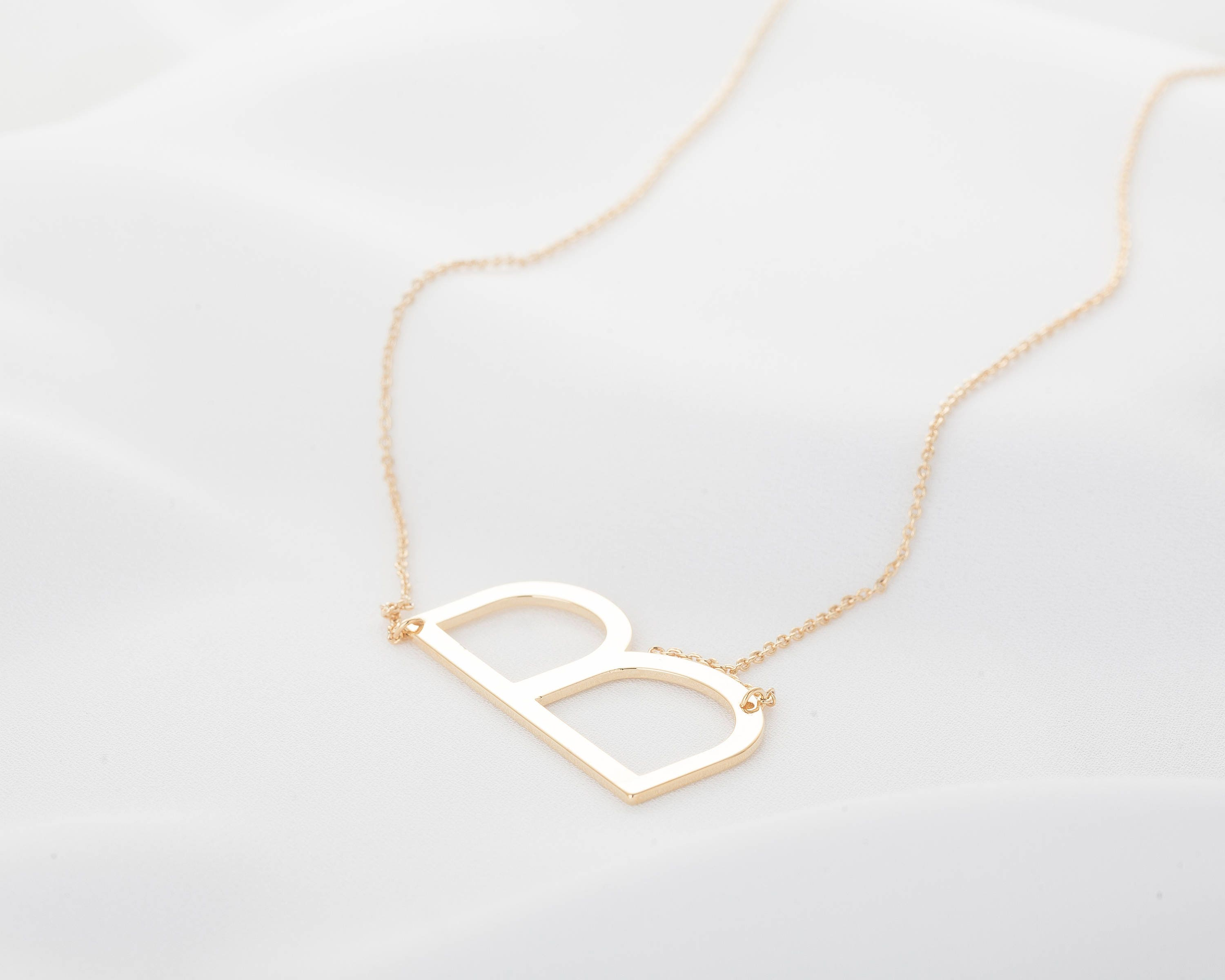 aetherair alphabet letter ltr necklace co diamond asli