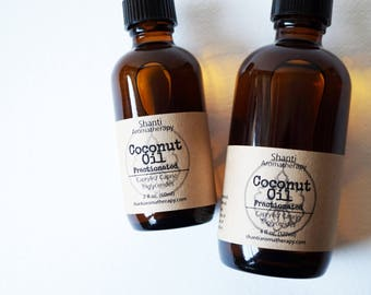 Fractionated Coconut Oil - Carrier Oil For Aromatherapy - Massage Oil - Skin Care Oil