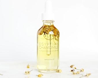 Hair Serum | Vegan Hair Oil | 100% Natural Conditioner for Dry and Damaged Hair | Lavender, Lemon + Chamomile