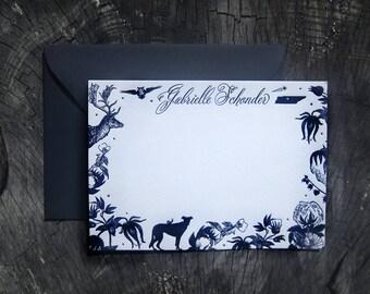 Classic Custom Letterpress Personal Stationery