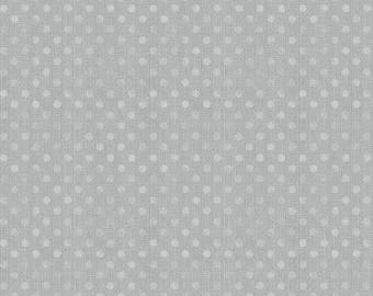 """108"""" Wilmington Prints Grey Dotsy Wide Backing"""