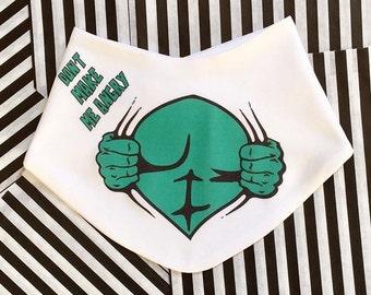 Hulk Baby Bib, Unique Baby Gift, Funny Baby Bib, Baby Shower, Cool Baby Bib, Baby Hulk Bib, Hulk Baby Clothing, Superhero Bib, Gaga Kidz
