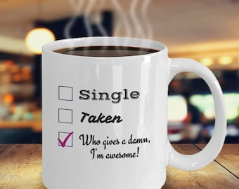 Funny Single Coffee Mug