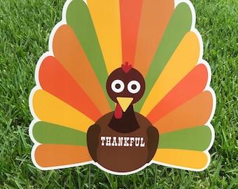 Festive Thankful Thanksgiving Turkey