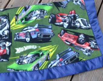 Hot Wheels Car Blanket hot wheels gift hot wheels baby shower gift cars nascar blanket unique baby gift curly girl handmade