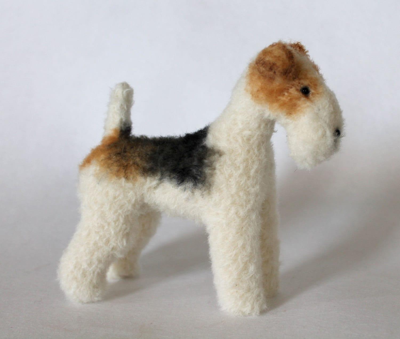 Wire Fox Terrier (16.5cm) - PDF dog sewing pattern from EmmaHallArt ...