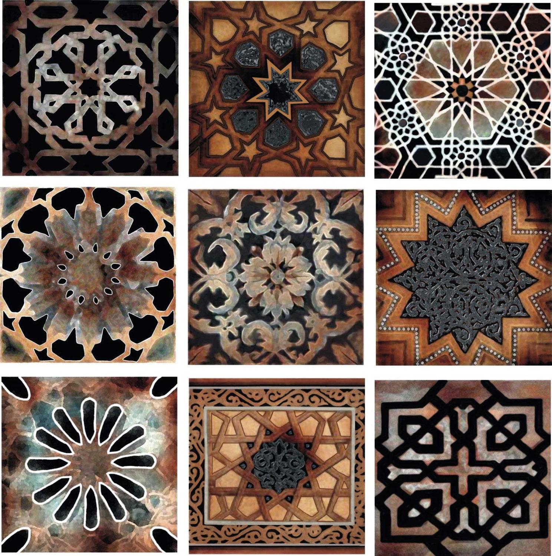 Old world decorative tile set backsplash ceramic artistic tile zoom dailygadgetfo Images