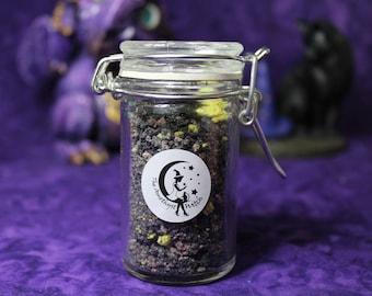 Jar Of Gold Miners Delight Fizzing Bath Salts - New - Handmade