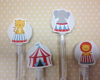 Carnival, Circus Party Favor Bubbles - Set of 10