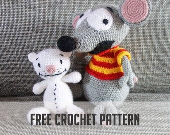 FREE CROCHET PATTERN (Do not buy)-- Toopy and Binoo