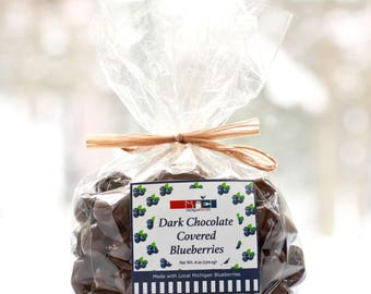 Dark Chocolate Covered Blueberries Michigan Blueberries Blueberry Chocolate