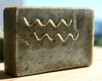 Yerba Mate Soap, Tea Soap, Luxury Designer Soap, Detox Soap, Hand and Body Soap, Unscented Bar, Made in Ireland, AB Tea, absoapstudio