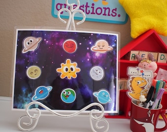 VIPKID Reward Board: Planets