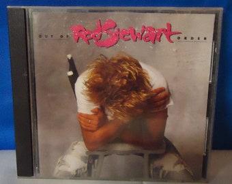 """050218 05 Used Rod Stewart """"Our Of Order"""" CD Warner Bros 9 25684-2"""