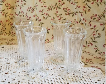 4 Piece Vintage Parfait Glasses