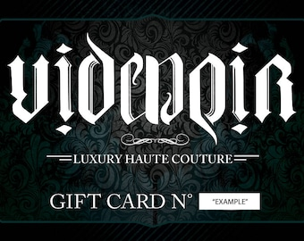 Gift Voucer - Gift Card - multiple prices