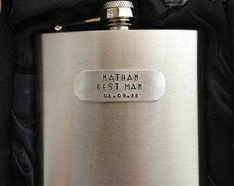 Personalised hip flask, wedding gift, hip flask, best man gift, best man hip flask, customised hip flask, hip flask gift, wedding hip flask