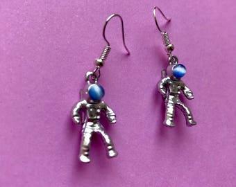 FREE Shipping! Astronaut Earring, Funky Earrings, Funky Jewellery, Cute Accessories