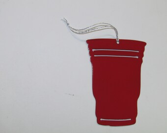 Red Solo Cup Ornament