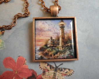 Beautiful Light House Necklace
