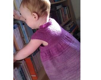 Maylee Dress PDF Pattern NB to 5 years old