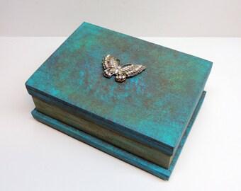 Handmade Hard Wood Box, Use for Trinket, Jewlery, Personal Box, Solid wood, Beautiful Gift Idea