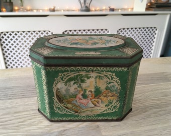 Lovely vintage tin Storage collectors