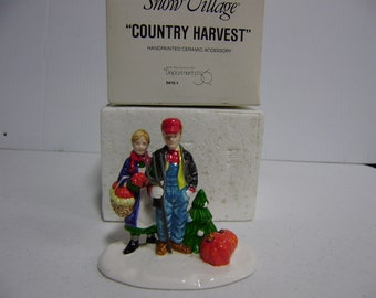 Department 56,Snow Village,ceramic collectible - COUNTRY HARVEST - #54151