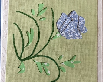 Blue Flower All Occasion Card