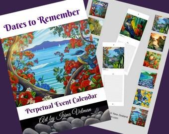 Perpetual Event Calendar
