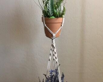 Macrame Double Plant Hanger |Macrame Plant Hanger| Plant Hanger |
