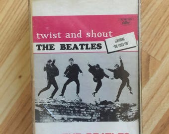 The Beatles Twist and Shout Cassette Tape Music