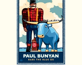 Landmark MN | Paul Bunyan Lakeside by Mark Herman