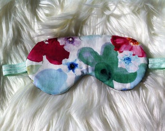 100% Cotton Eye Mask, Sleep Mask, Eye Wear, Sleep Wear