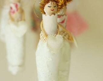 Vintage Peg Doll Fairy