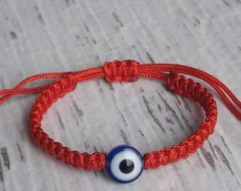 Baby bracelet, newborn bracelet ,baby evil eye  protection bracelet, red bracelet baby, infant bracelet