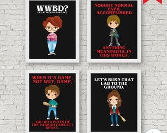 Stranger Kids Printables, 8x10 Stranger Signs, Stranger Digital Printable, Stranger Decorations, Strange Party