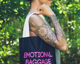 Emotional Baggage Tote