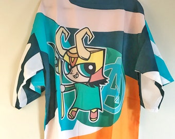The Avengers Loki Kimono jacket