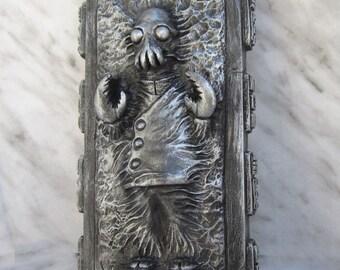 Dr. Zoidberg frozen in carbonite (futurama) collectible figurine