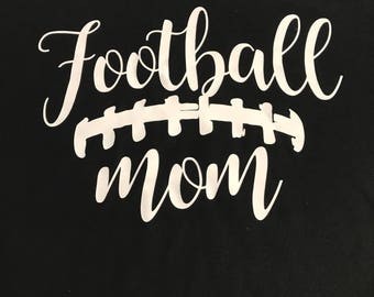 football mom shirt personalized with your number name on back