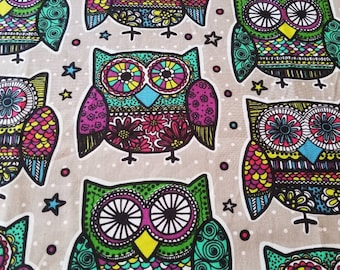 Custom Owl Diaper you choose type and size Nb/Sm or Onesize