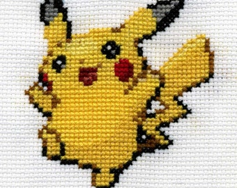 Your Favourite Pokemon Cross Stitched