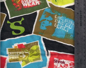 Shrek fabric piece